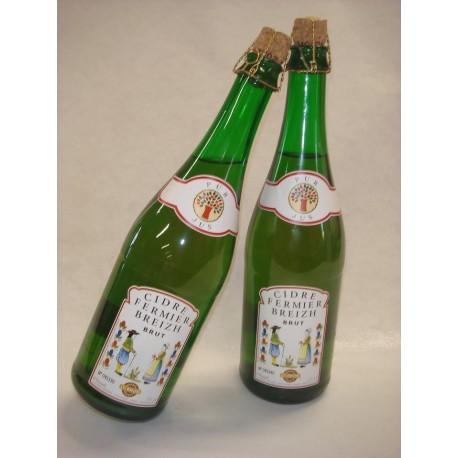 Cidre breton brut bouché ** 75 cl
